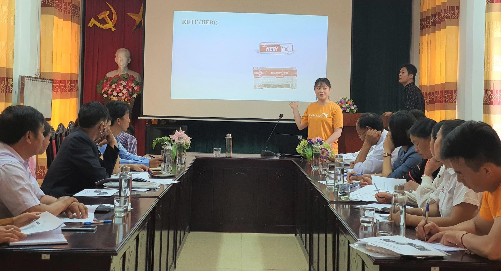 World Vision supports malnourished children in Dien Bien Province