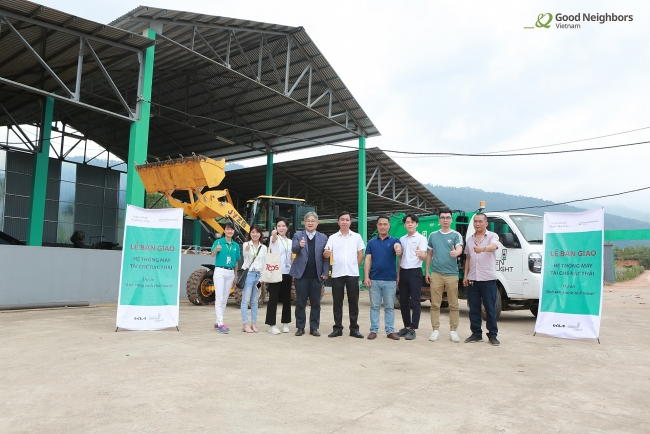 Korean NGO hands over waste treatment system to Vietnam's locality