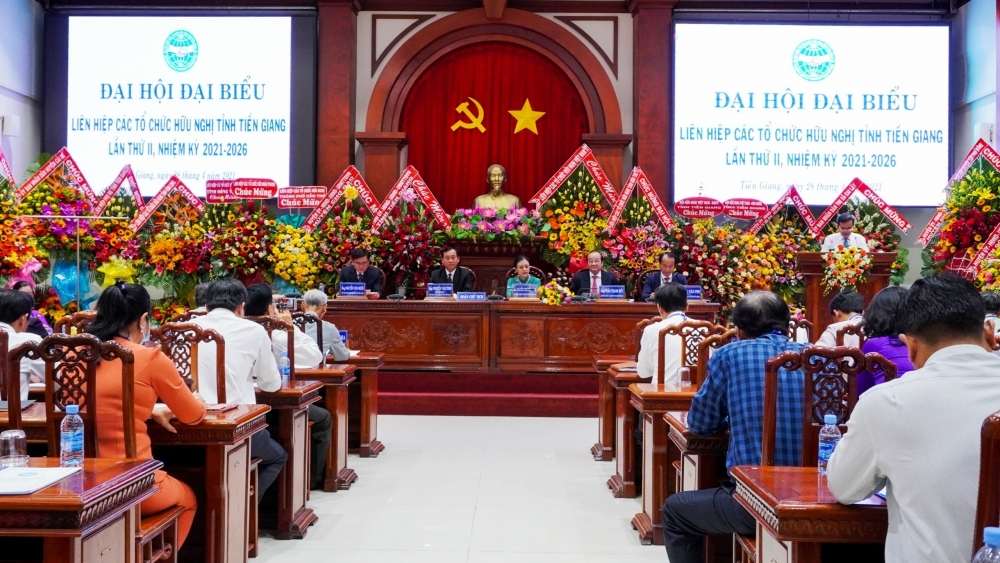Vice Chairman of Provincial People's Committee elected as Chairman of Tien Giang Union