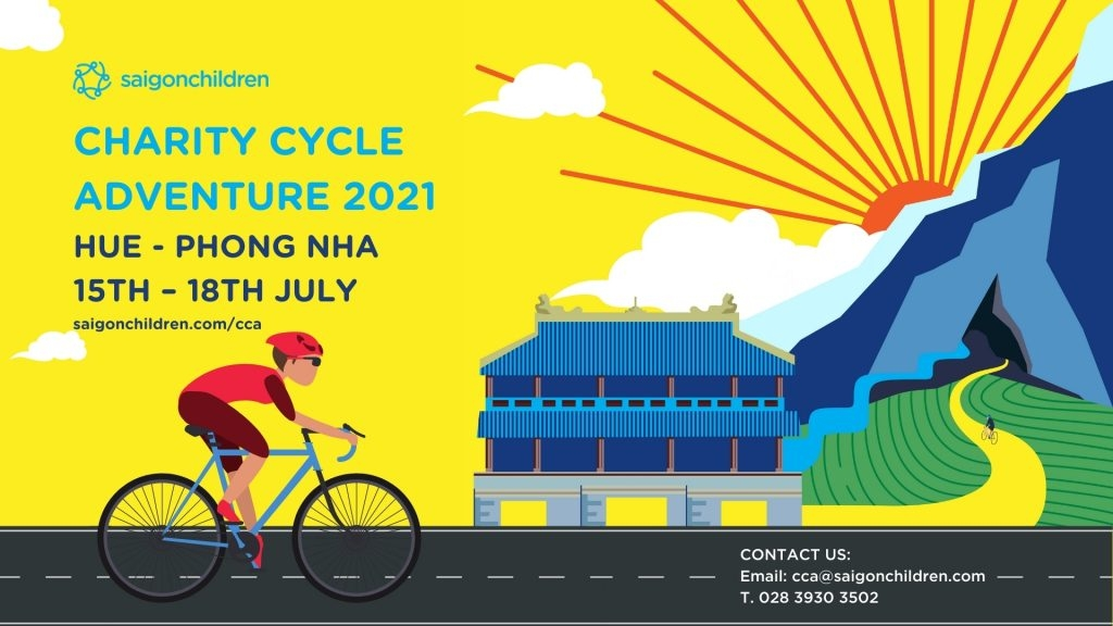 Join Charity Cycle Adventure to raise fund for Vietnam's disadvantaged children
