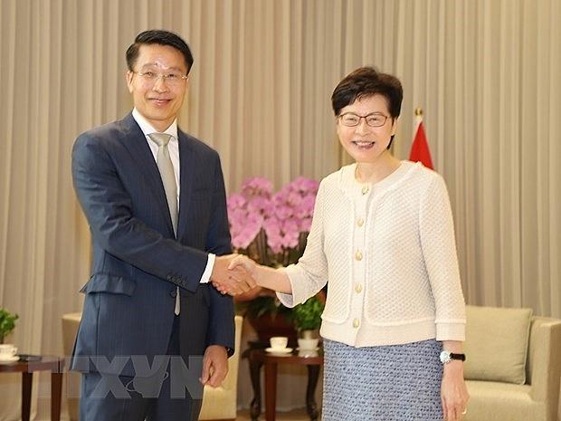 Vietnam, Hong Kong seeing more room for stronger development