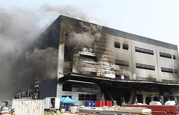 vietnamese pm conveys condolences to rok after deadly warehouse fire kills 38