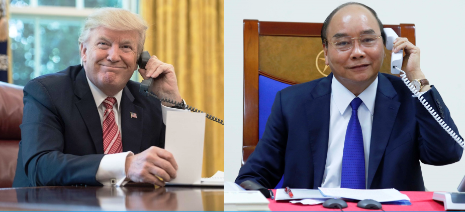 president trump us vietnam ties to develop soundly in the coming time