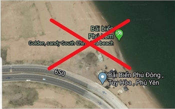 google maps finally corrects misinformation about vietnams beach