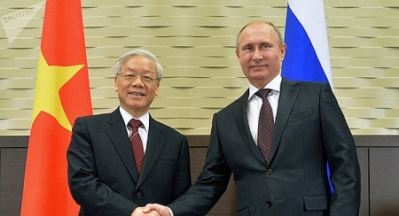 Vietnamese leaders congratulate Russian counterparts on Victory Day over Fascism