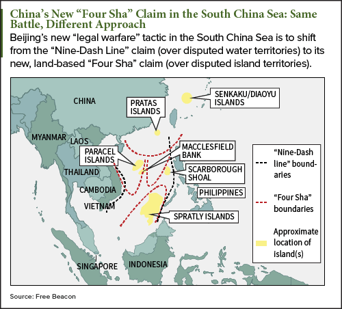 vietnam rejects chinas four sha claims in east sea