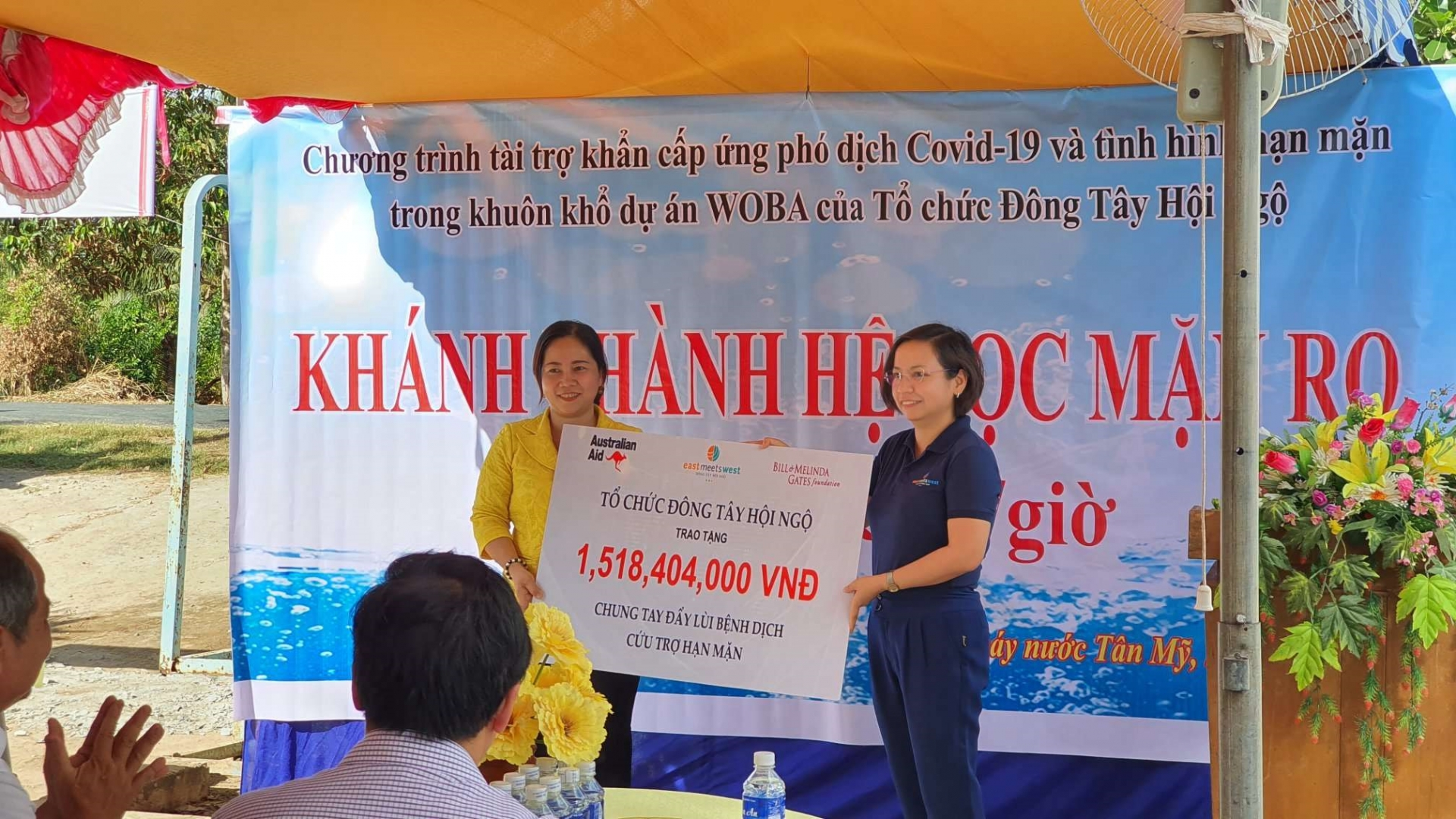 water filtration kiosk ensures quality water for 6000 households in ben tre