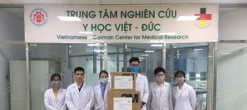 hanoi based centre of medical research donates much needed medical supplies to germany