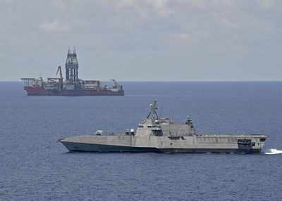 US Navy maintains persistent presence near West Capella drillship in East Sea