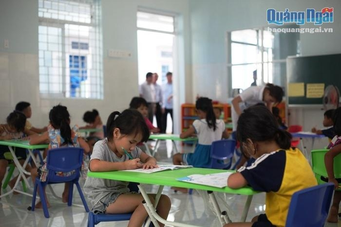 ngo builds new classrooms for children in quang ngai