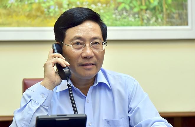 canadian fm congratulates vietnam on successful covid 19 containment