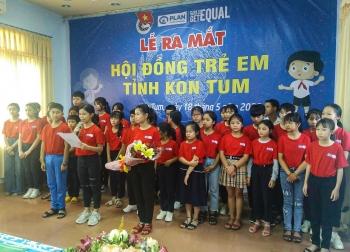 childrens council established in kon tum province