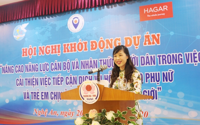 strengthening reporting system to respond to victims subjected to violence in nghe an