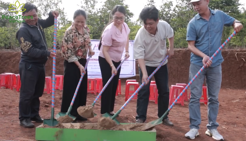 peacetrees vietnam builds 18th kindergarten in vietnam