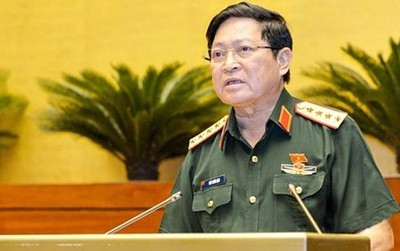 Vietnamese Defence Minister: National borders are sacred and inviolable