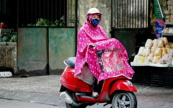 following heat wave heavy rain and strong winds expected for vietnams northern region