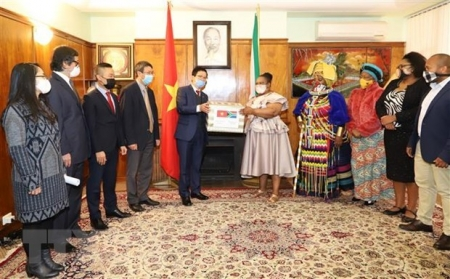 COVID-19 fight: Vietnamese Embassy presents gift to South Africa