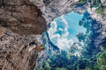 vietnam news today vietnams highest sinkhole mysteries uncovered