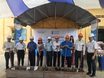 saigon childrens charity builds school in vietnams mekong delta amidst covid 19