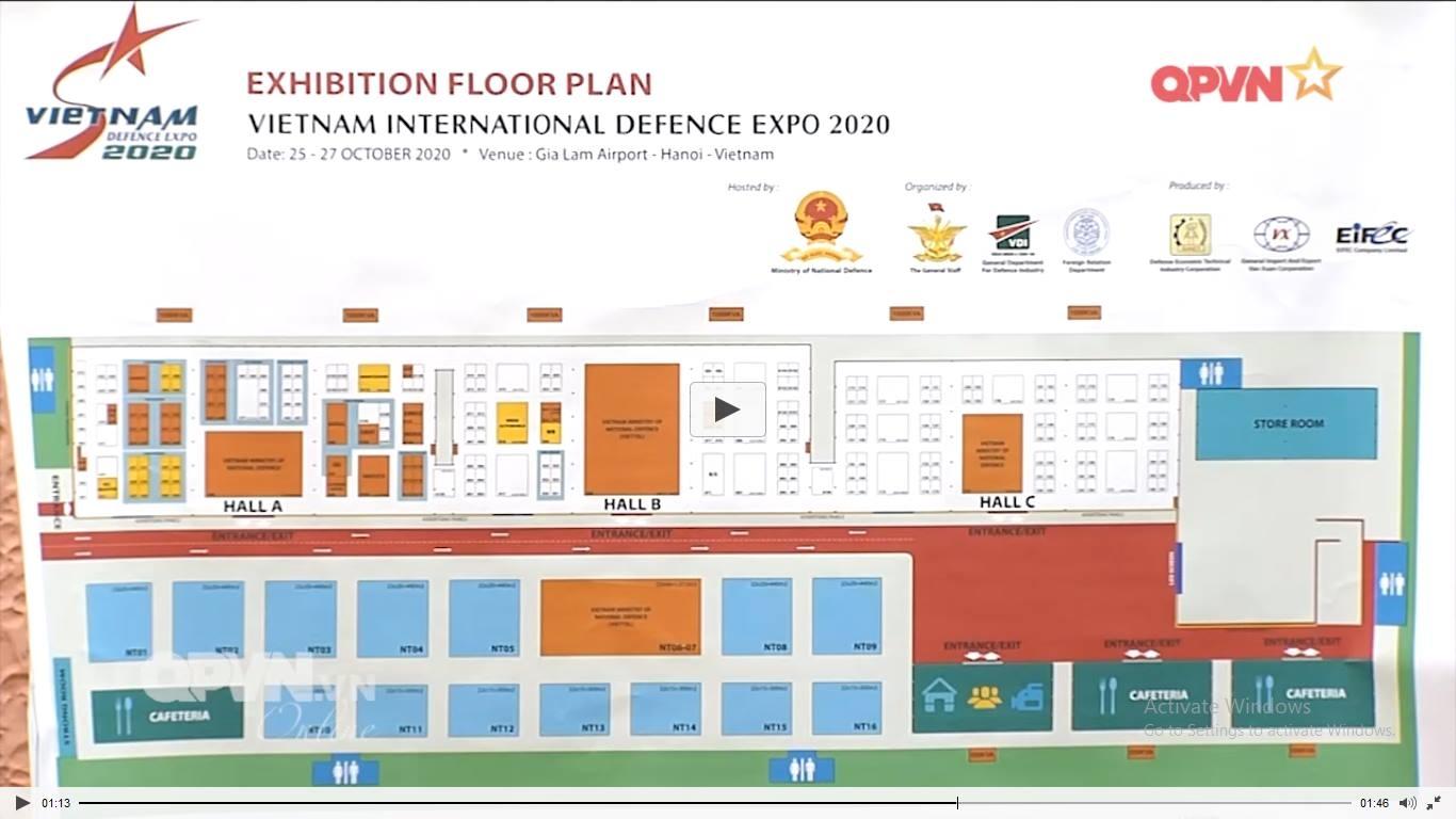 vietnam international defense exhibition 2020 to be held this oct