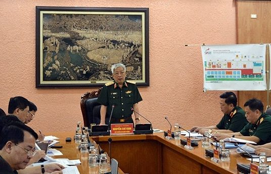 defense ministry reviews military and tasks in may
