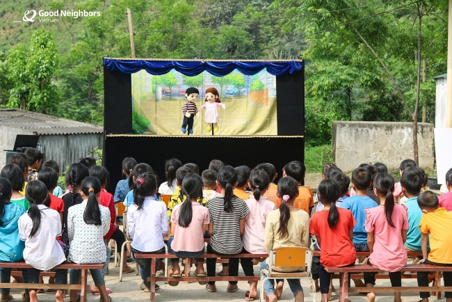 Korean NGO supports children with difficulties