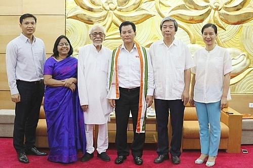 Farewell Geetesh Sharma - Indian friend of Vietnam