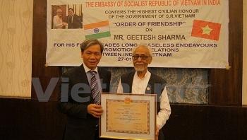 Farewell Geetesh Sharma - a great friend of Vietnam