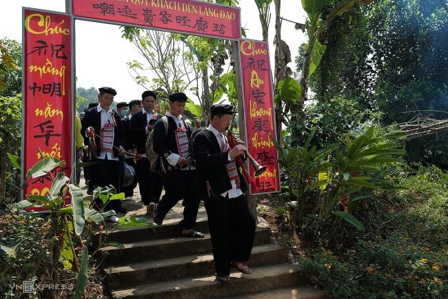 Ban Vuong festival of Dao ethnic group reenacted in Hanoi