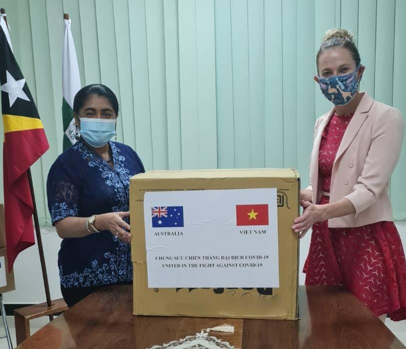 Vietnam, Australia united in the fight against COVID-19 in Timor-Leste