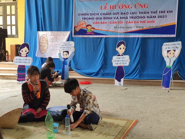 Event to protect children from violence held in Dien Bien Province