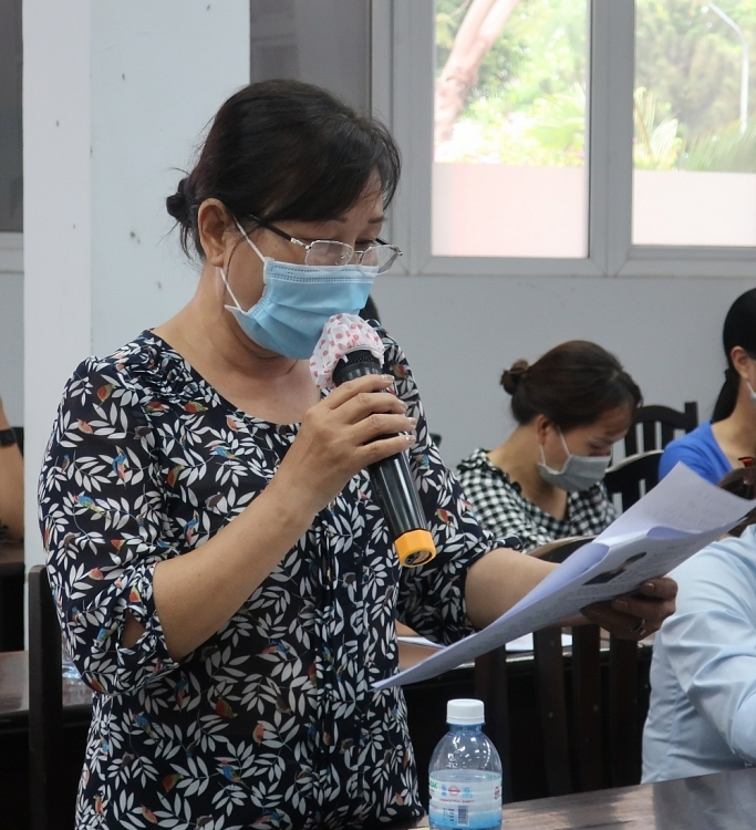 Ho Chi Minh city's voters concern about NGOs socio-economic development project