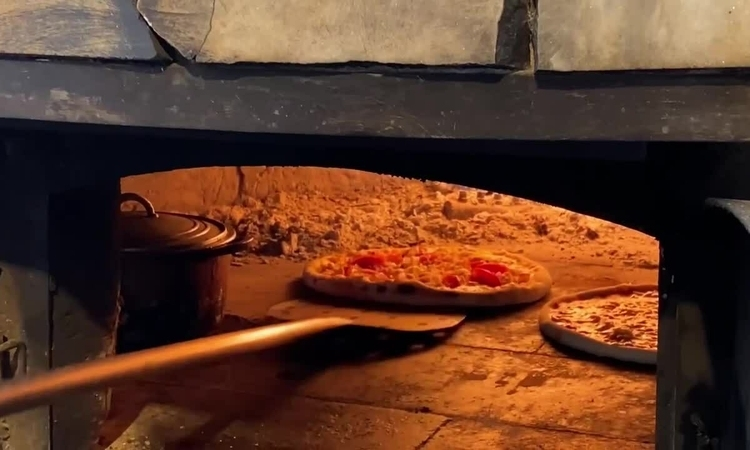 Check out H'mong-style pizza in Sa Pa