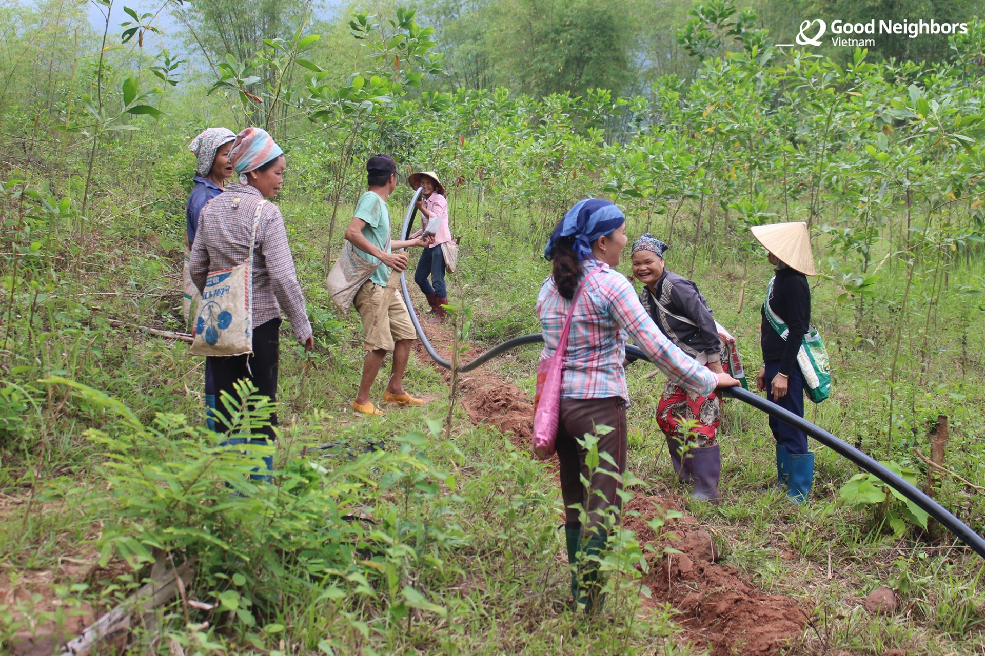GNI improves water condition for 176 households in rural commune