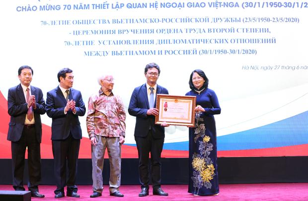 Vietnam-Russia Friendship Association holds online activities to mark founding anniversary