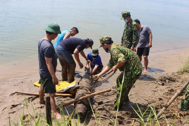 Quang Tri safely handles 250-kg wartime bomb