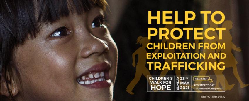 Join Christina Noble Children's Foundation Children's Walk for Hope