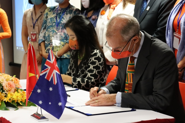Australia providing AUD 9.5 million to end violence against women and children in Vietnam