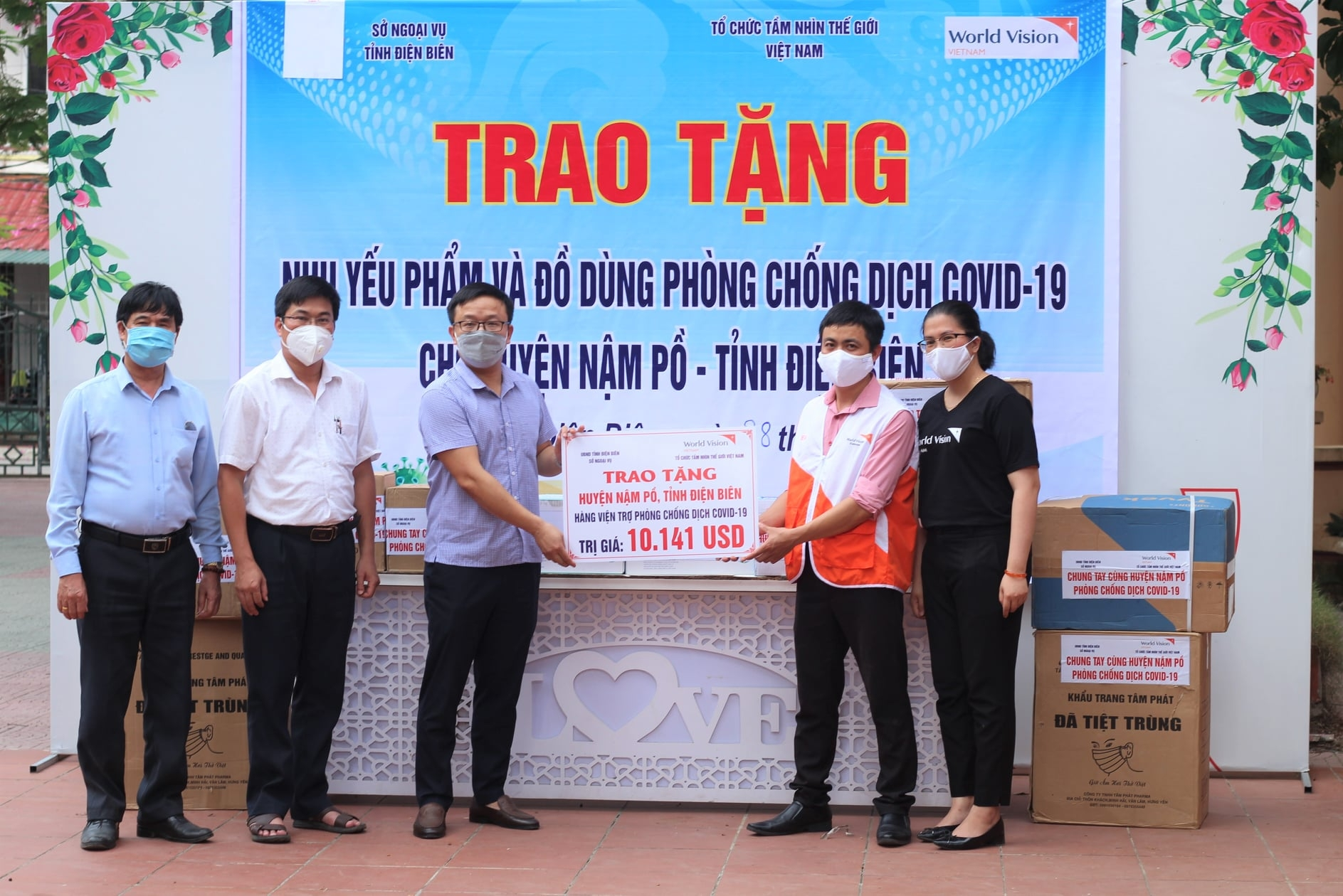 NGO joins in COVID-19 combat efforts