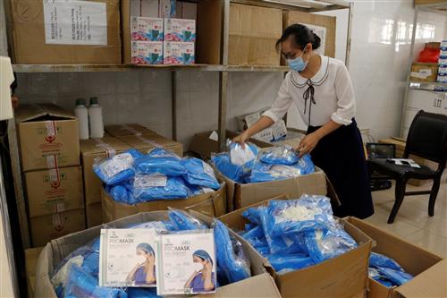 Helen Keller International donates medical supplies to help mountainous province fight Covid-19