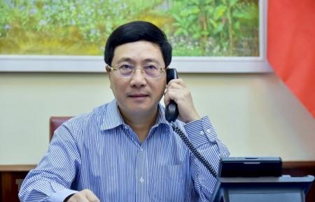 Vietnam, Japan discuss COVID-19 fight, economic cooperation