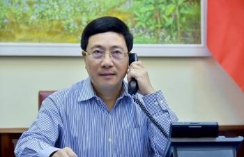 vietnam japan discuss covid 19 fight economic cooperation