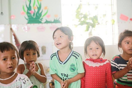 peacetrees to build second kindergarten in quang binh