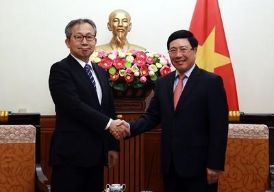 Deputy PM welcomes newly accredited Japanese ambassador