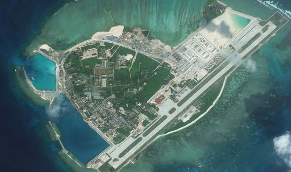 satellite images show china working on undersea cables in vietnams paracel islands