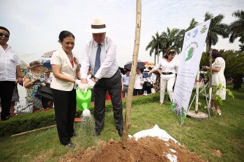 russias victory day marked by tree planting event