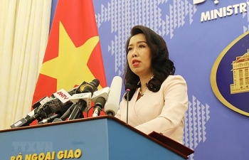 fm spokesperson countries need to act responsibly in east sea