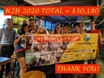 annual charity ride raises over usd 30000 for needy children amid covid 19