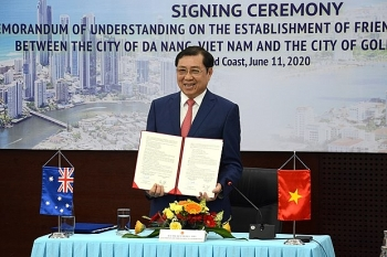 da nang australias coastal city sign mou to step up bilateral cooperation