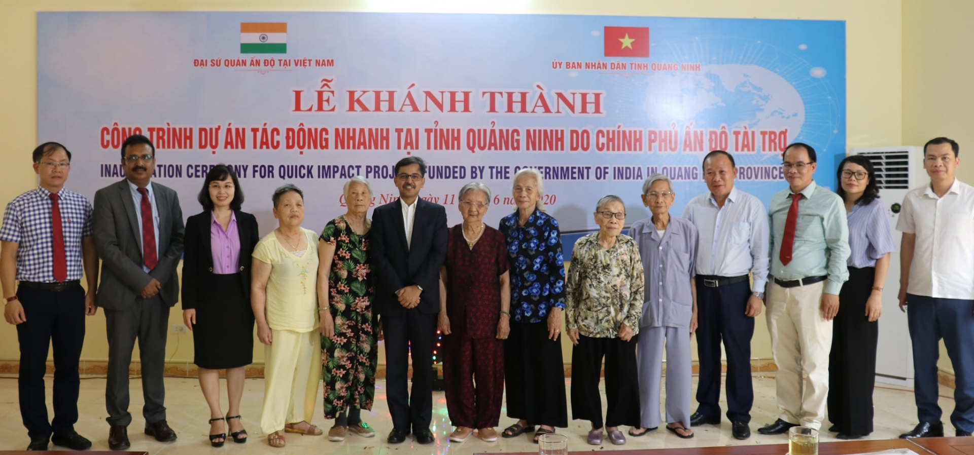 india supports quang binh province to improve infrastructure for seniors